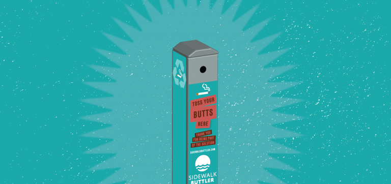 """Town of Westmore to install cigarette """"buttlers"""" on North End Beach"""