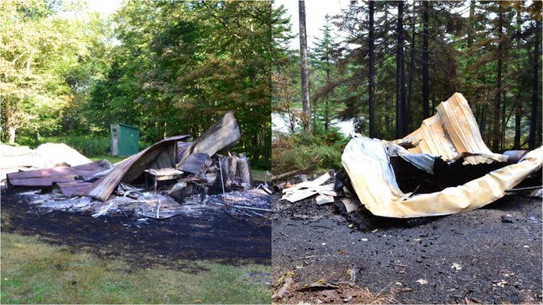 'Suspicious' fires destroy two Essex County camps