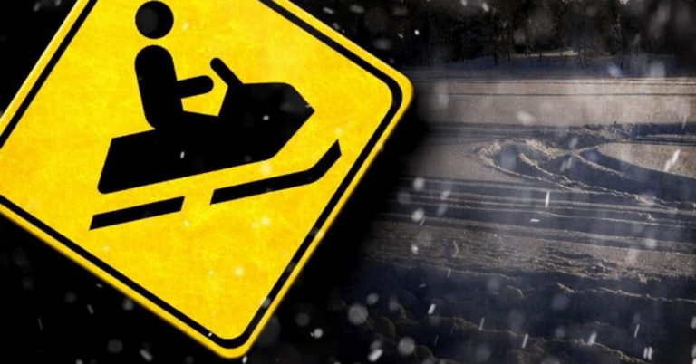 Woman airlifted to hospital after snowmobile accident in Troy