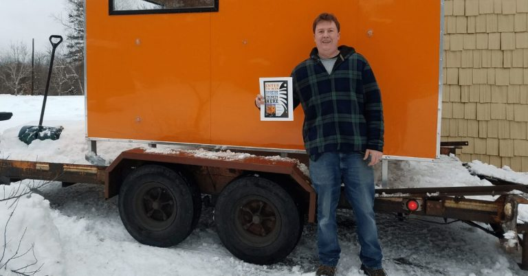 Local fisherman wins $5,000 ice shack from Newport Recreation Committee
