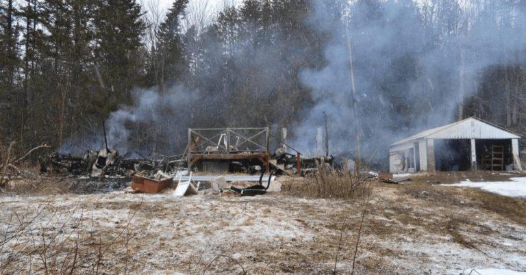 West Burke fire considered suspicious