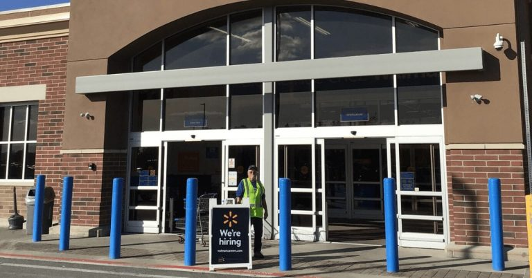 Walmart in Derby not allowed in-person sales of non-essential items