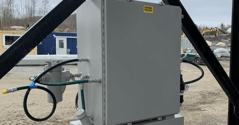 Asphalt production equipment stolen in Irasburg