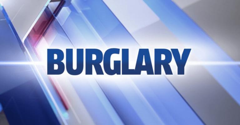 Police investigating burglary in Holland