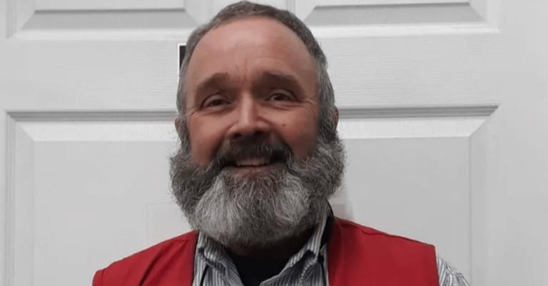 "Steve Tarbox of Orleans voted ""Best Urban Beard"" at fourth annual Vermont Beardies"