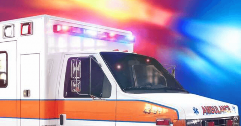 Ambulance transporting patient crashes in Morgan