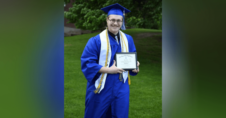 Lake Region graduate William Coburn receives inaugural William T. Hawkens Memorial Award