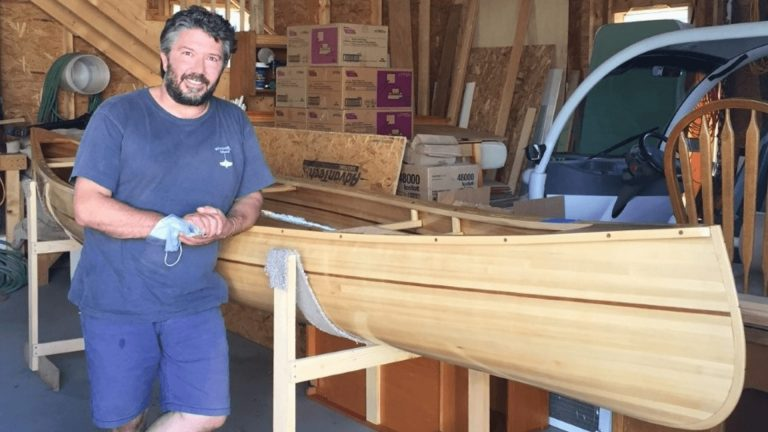 Local ER nurse wins Craftsbury Community Care Center canoe
