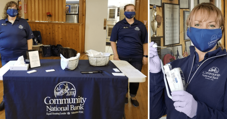 Blood Drive in Derby sponsored by Community National Bank raises enough to save 195 lives