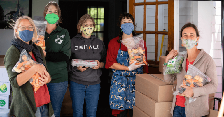 New grant to deliver local food to Craftsbury and Albany food share programs