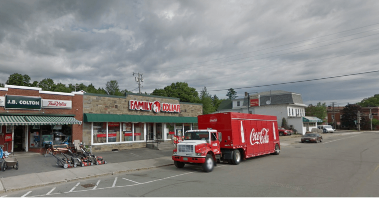 Smash and grab burglary at Family Dollar in Orleans