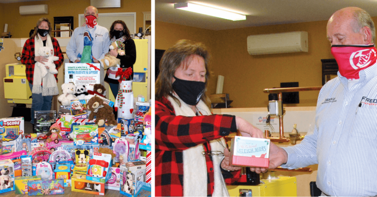 Fred's Energy toy drive helps local kids, 3 families receive 100 gallons of heating oil