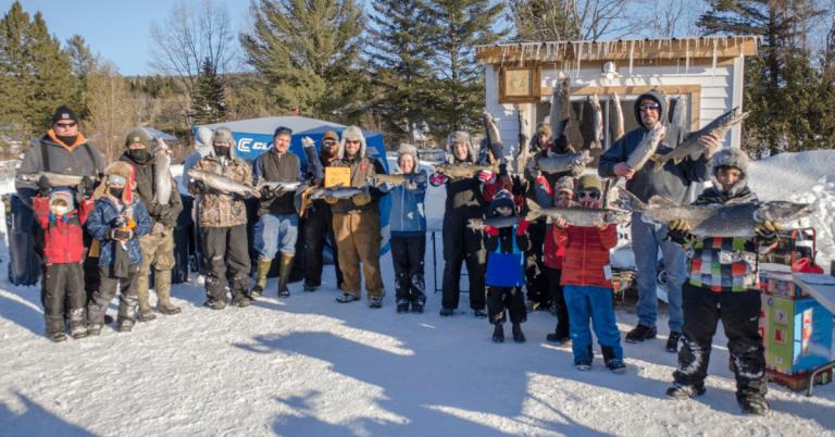 Over $16K raised during Eli Goss Memorial Ice Fishing Tournament