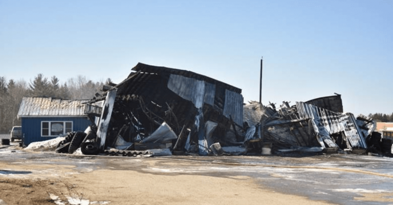 Fire destroys Derby Tire and Service Center