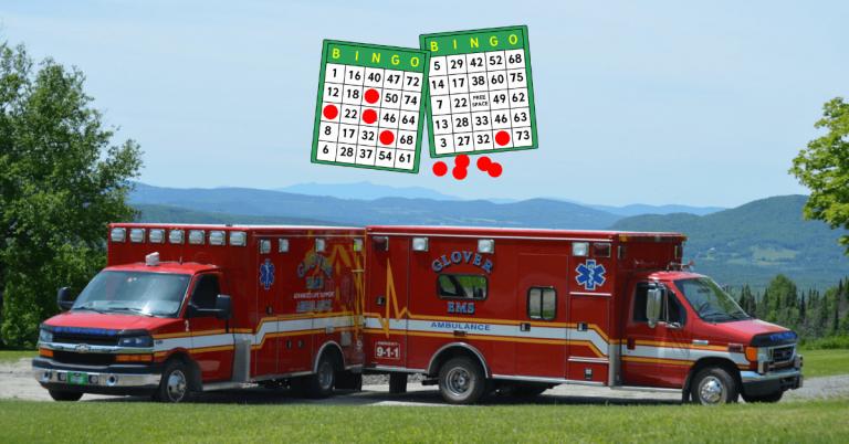 Virtual bingo to support Glover Ambulance kicks off Memorial Day weekend