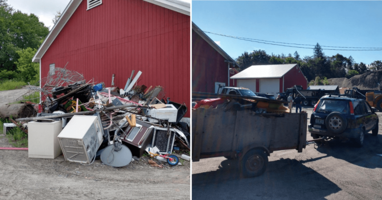 Craftsbury's first bulky waste collection a success