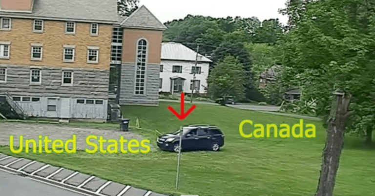 Car spotted illegally entering U.S. in Derby Line
