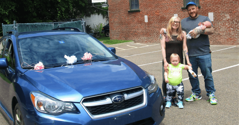 Local nonprofit puts Newport mother in the driver's seat