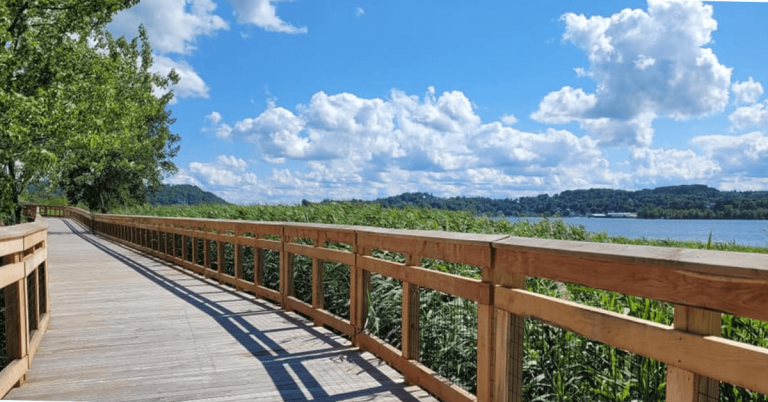 Bluffside Farm recreation path to officially open this fall