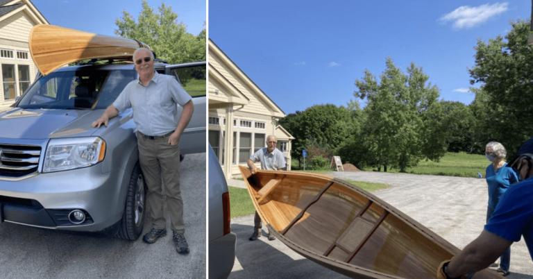 Winner of Craftsbury Community Care Center canoe announced