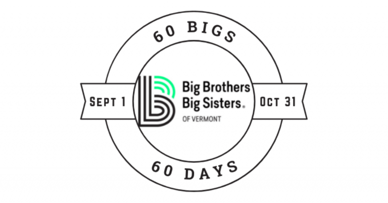 Can you help BBBSVT find 60 bigs in 60 days?