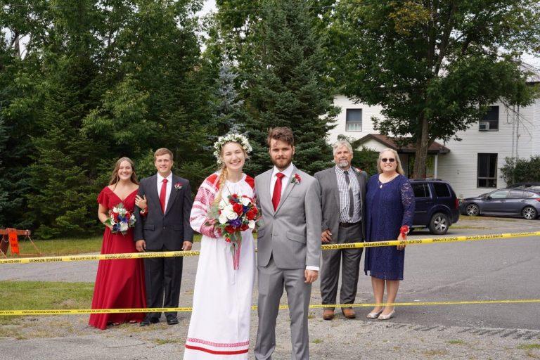 "Border wedding in Derby Line as family still deemed ""non-essential"" travel"