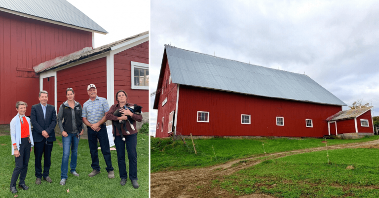Lyndonville barn gets refreshed thanks to the Vermont Barn Painting Project